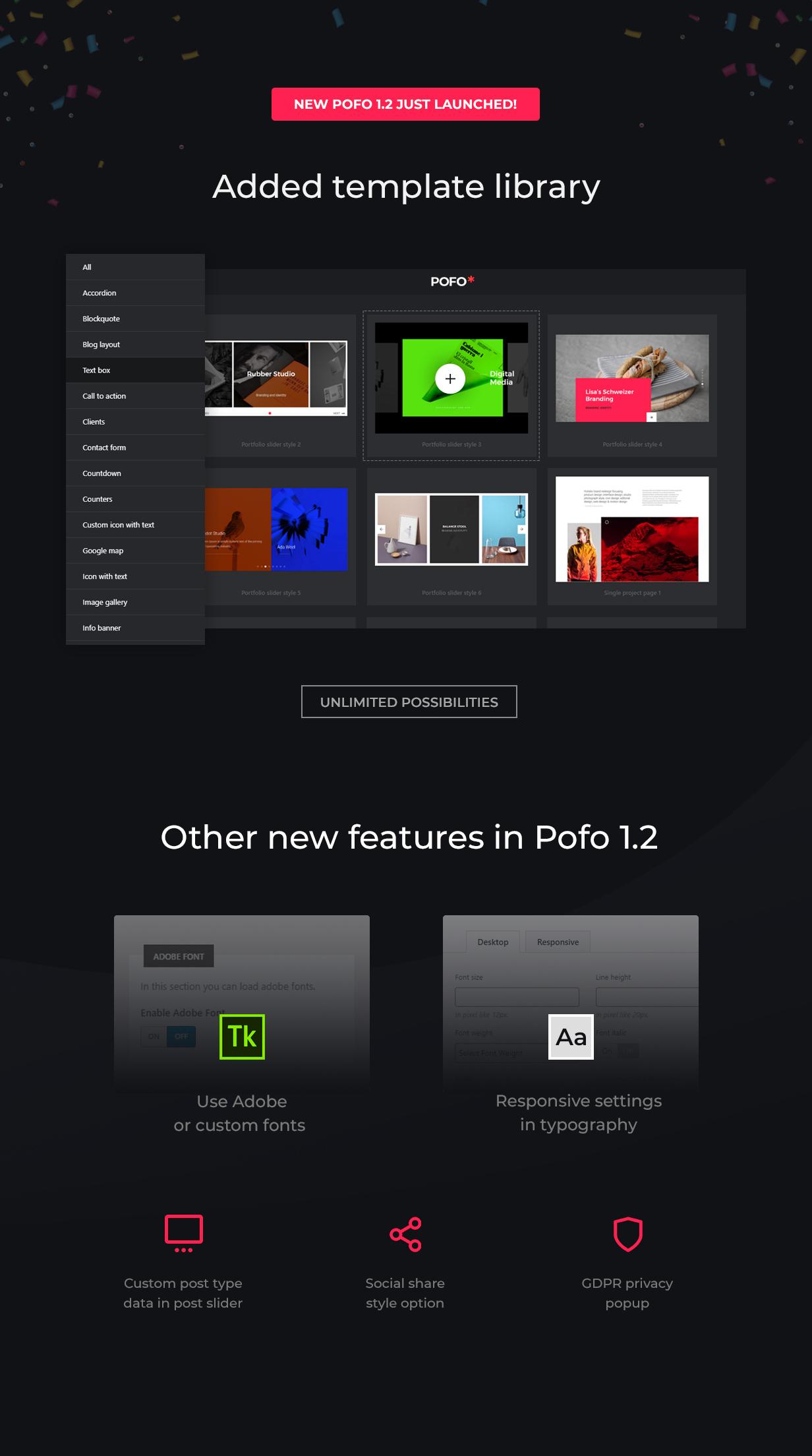 Pofo - Creative Portfolio and Blog WordPress Theme - 5