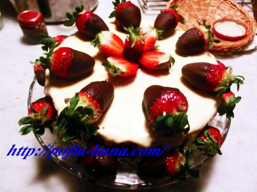 Tort trio de ciocolata