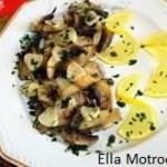 Salata de ciuperci coapte (de Ella Motroceanu)