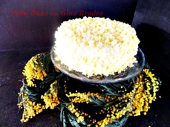 Reteta de tort Mimoza