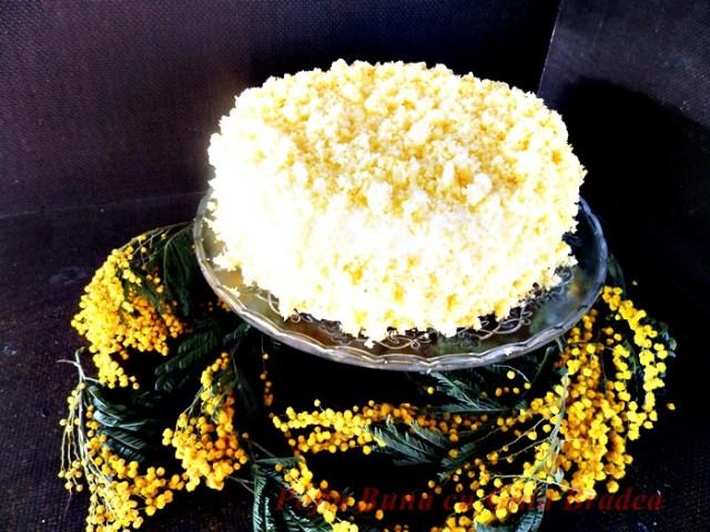 Tort Mimoza, de 8 martie