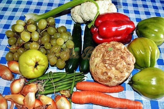 Muraturi cu fructe, asortate