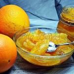 Dulceata de portocale felii