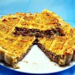 Placinta, tarta cu carne
