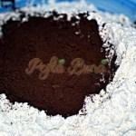 Chec fin cu ciocolata si inimioare