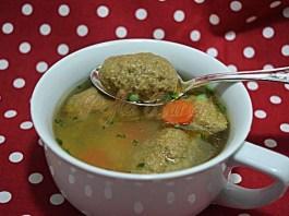 Supa cu galuste de ficat