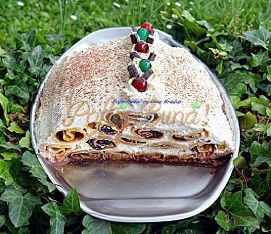 Tort cusma lui Guguta din clatite