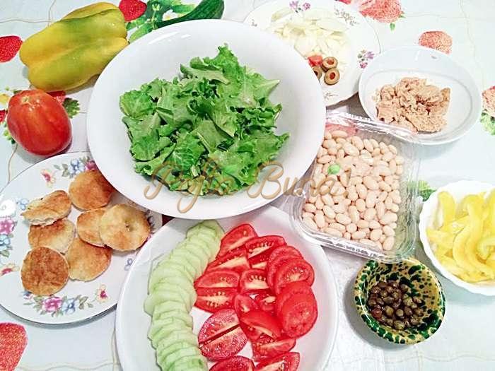 Salata Nicoise-insalata Nizzarda
