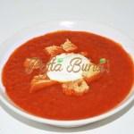 Supa-crema de ardei copti