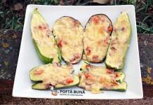 Minipizza pe pat de legume, reteta dietetica