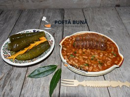 Iahnie, mancare de fasole cu carnati afumati, reteta traditionala moldoveneasca