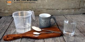 Masurarea ingredientelor in bucatarie fara cantar (tabele masuratori practice)
