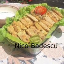 Sticksuri din dovlecei Nico Badescu