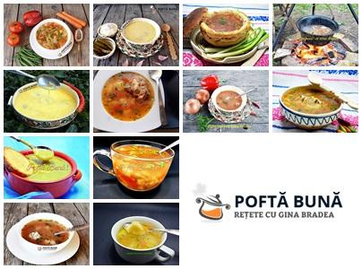 Top 5 retete de ciorba-supa iubite si gatite in Romania
