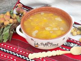 Chisalita de caise, corcoduse, zarzare, prune, visine, reteta traditionala