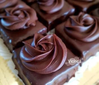 Amandine cu ciocolata, reteta veche de cofetarie