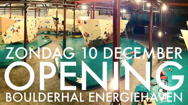 boulderhal energiehaven utrecht opening pofzak