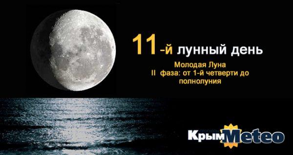 Сегодня — 11 лунные сутки. Бойтесь краха — идите вперёд!