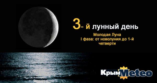 3 лунные сутки — день борьбы и напора
