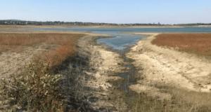 В водохранилищах, питающих Симферополь, почти не осталось воды