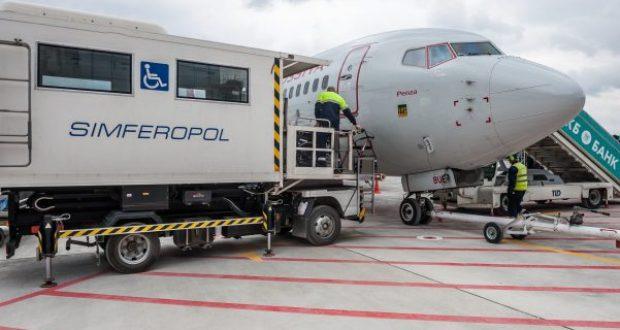 """В аэропору """"Симферополь"""" - новые сервисы для маломобильных пассажиров"""
