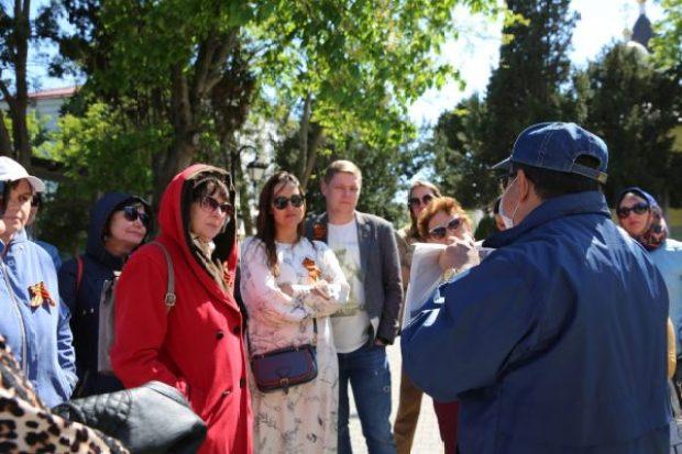 В Херсонесе Таврическом прошли тематические выставки ко Дню Победы