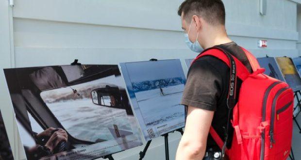 В аэропорту «Симферополь» — фотоэкспозиция уникальных видов Байкала