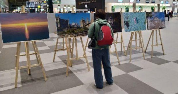 В аэропорту «Симферополь» - фотовыставка достопримечательностей