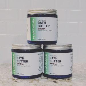Bath Butter Scrub in Mocha