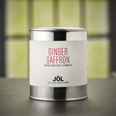 Ginger Saffron Scented Candle
