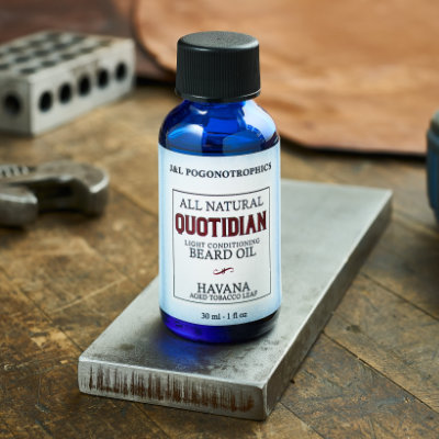 QUOTIDIAN Formula Beard Oil for Lighter Conditioning