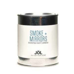 Smoke + Mirrors 1 Pint Paint Can Soy Wax Candle