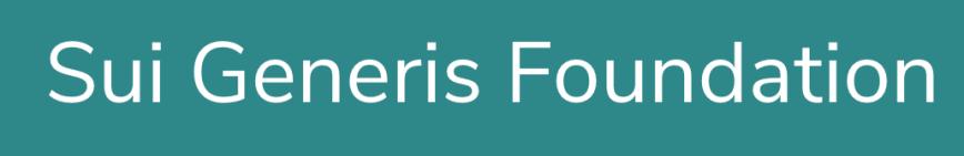 Sui Generis Foundation