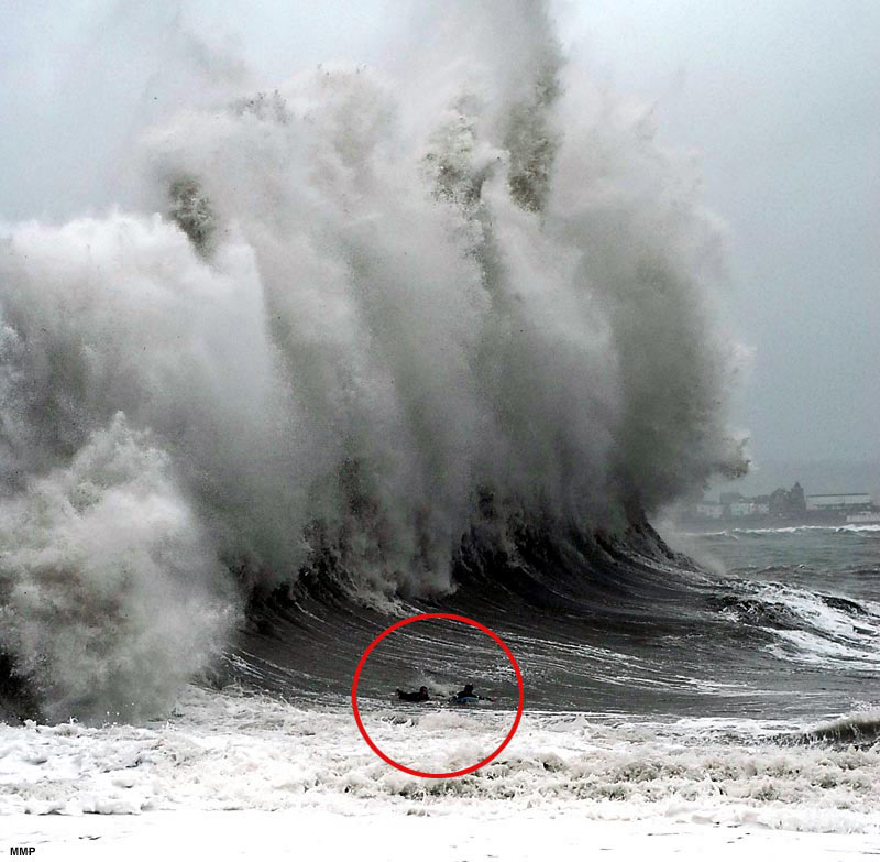 the possibility of a tsunami I can't put a number on the chances of it happening, there's no way of knowing  timing, he says but when we have more frequent small.