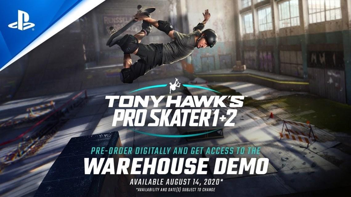 Activision: płatne demo Tony Hawk's Pro Skater 1+2