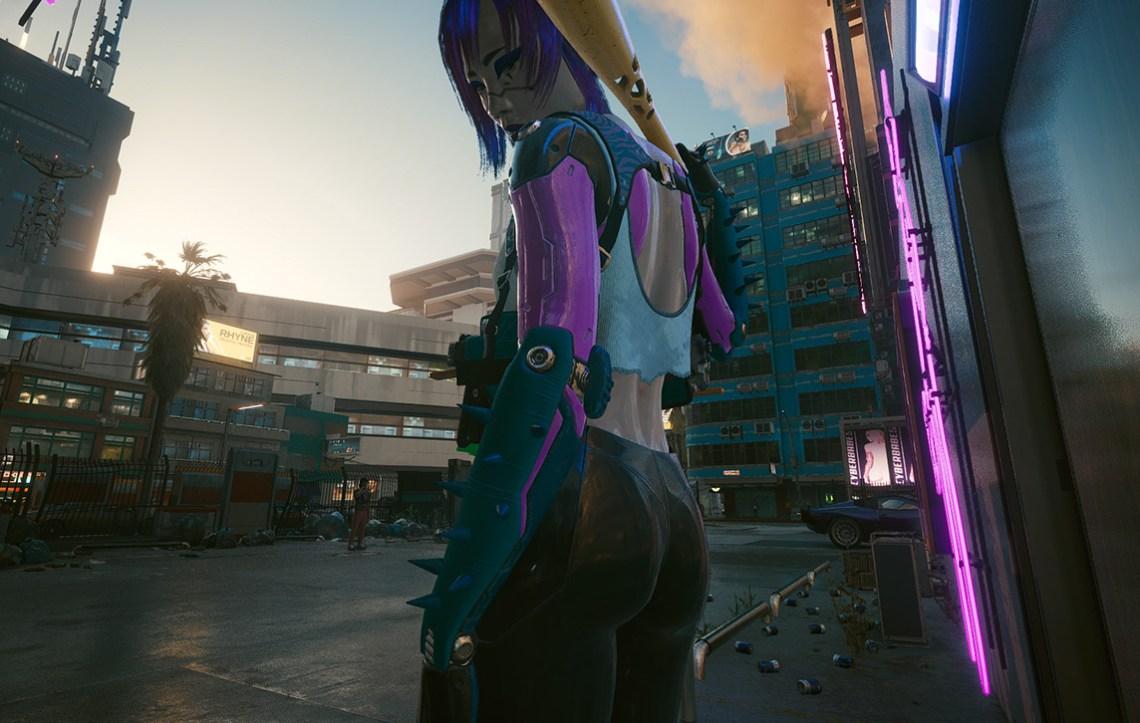 Cyberpunk 2077 Lizzy