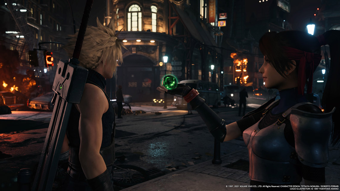 Final Fantasy VII Remake Intergrade - Cloud