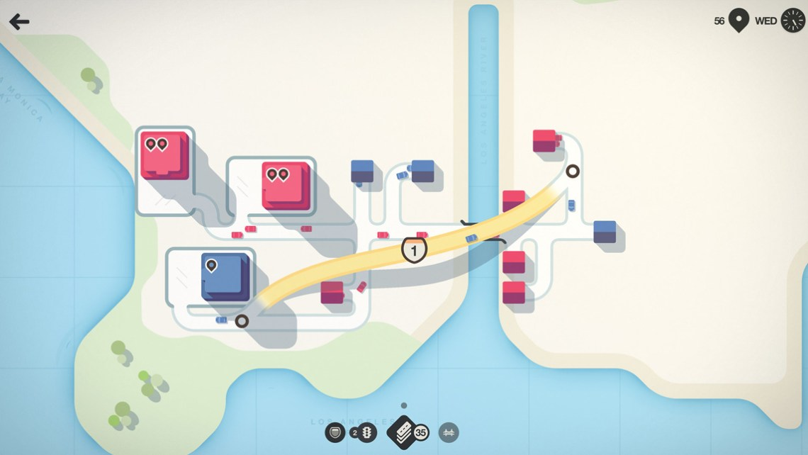 Mini Motorways - Gameplay