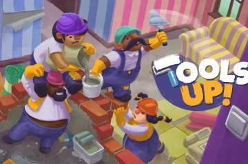 Tools Up! - okładka