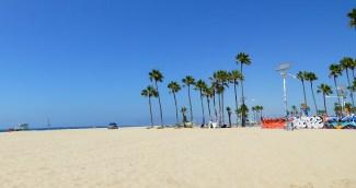 Glorious white sand