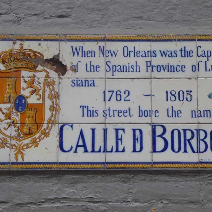 All the streets have these plaques