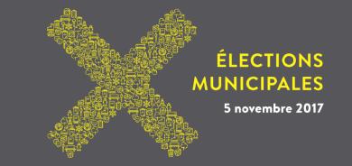 Élection municipale, c'est le 5 novembre qu'on vote!