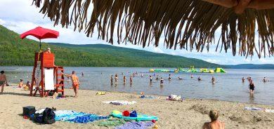 Camping plage Pohénégamook : succès inespéré pour la saison 2020