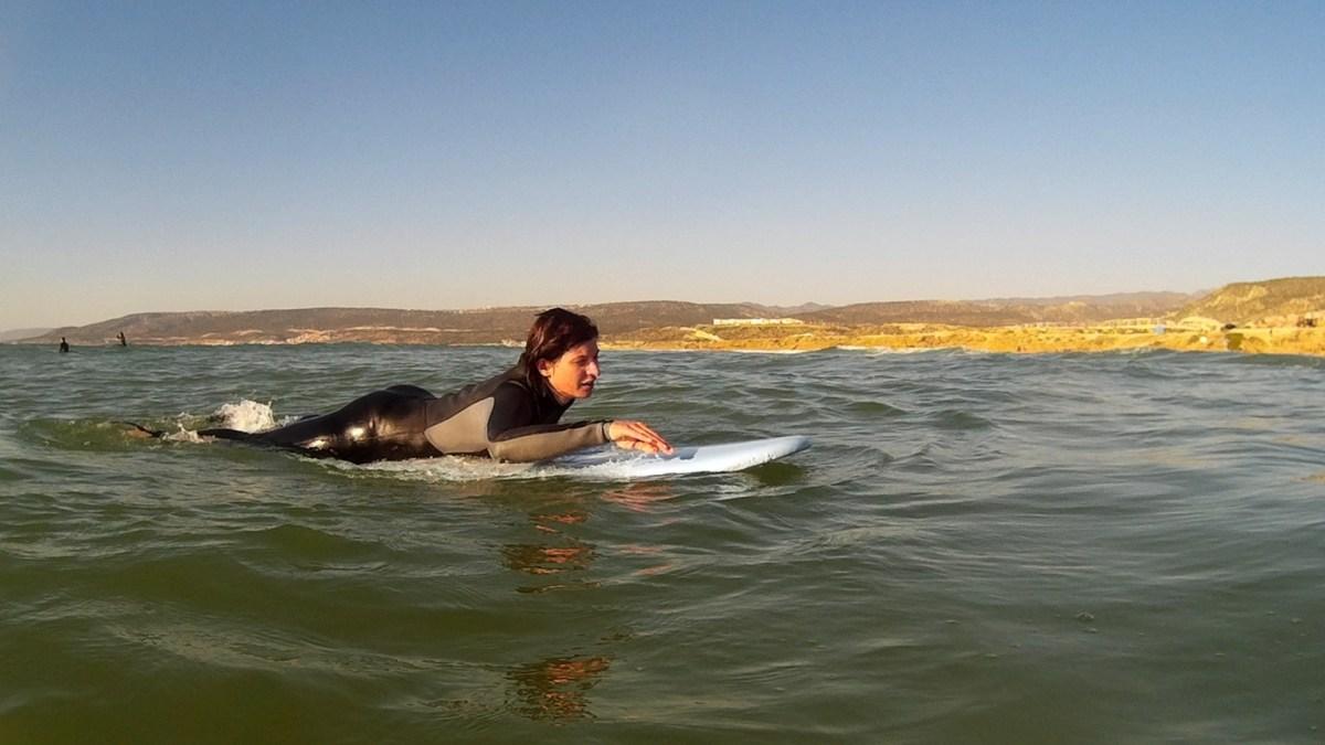 První surfování