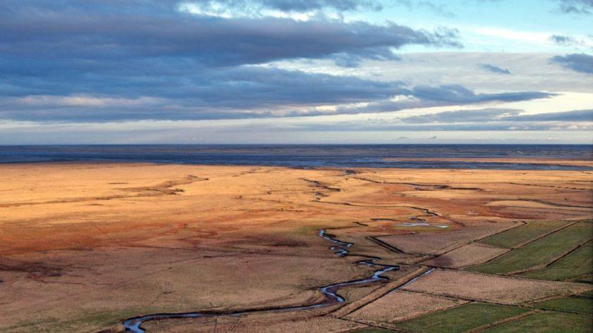 Poblíž Holmaru, jihovýchod Islandu
