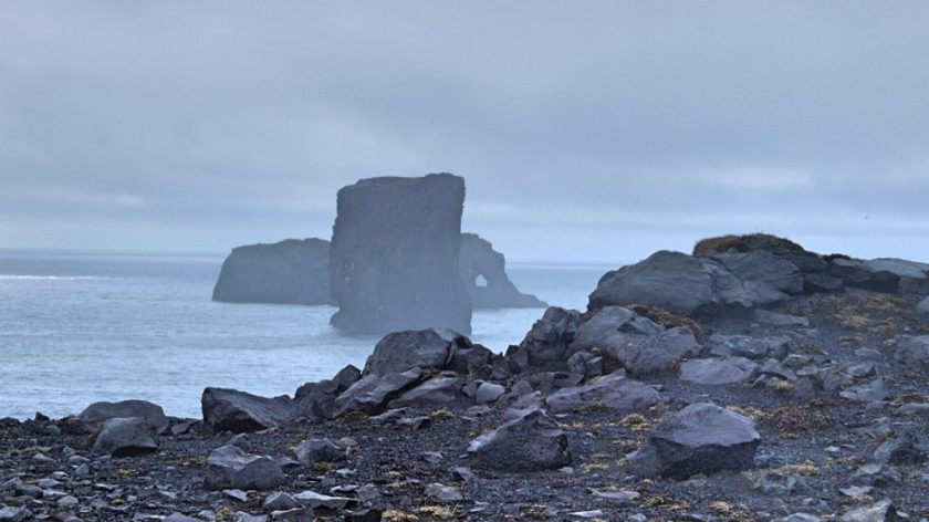 Vik, jihovýchod Islandu