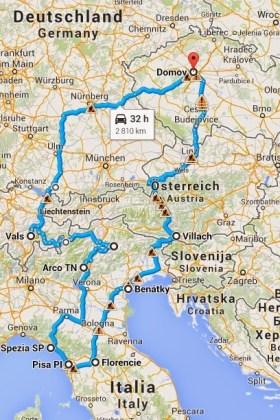 Autem po Evropě – tak trochu jiná dovolená