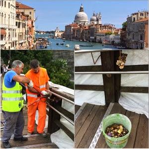 Pracovní den v Benátkách