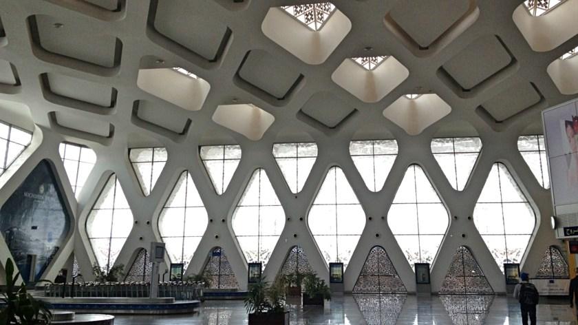 Letiště, Marrákeš, Maroko, Afrika