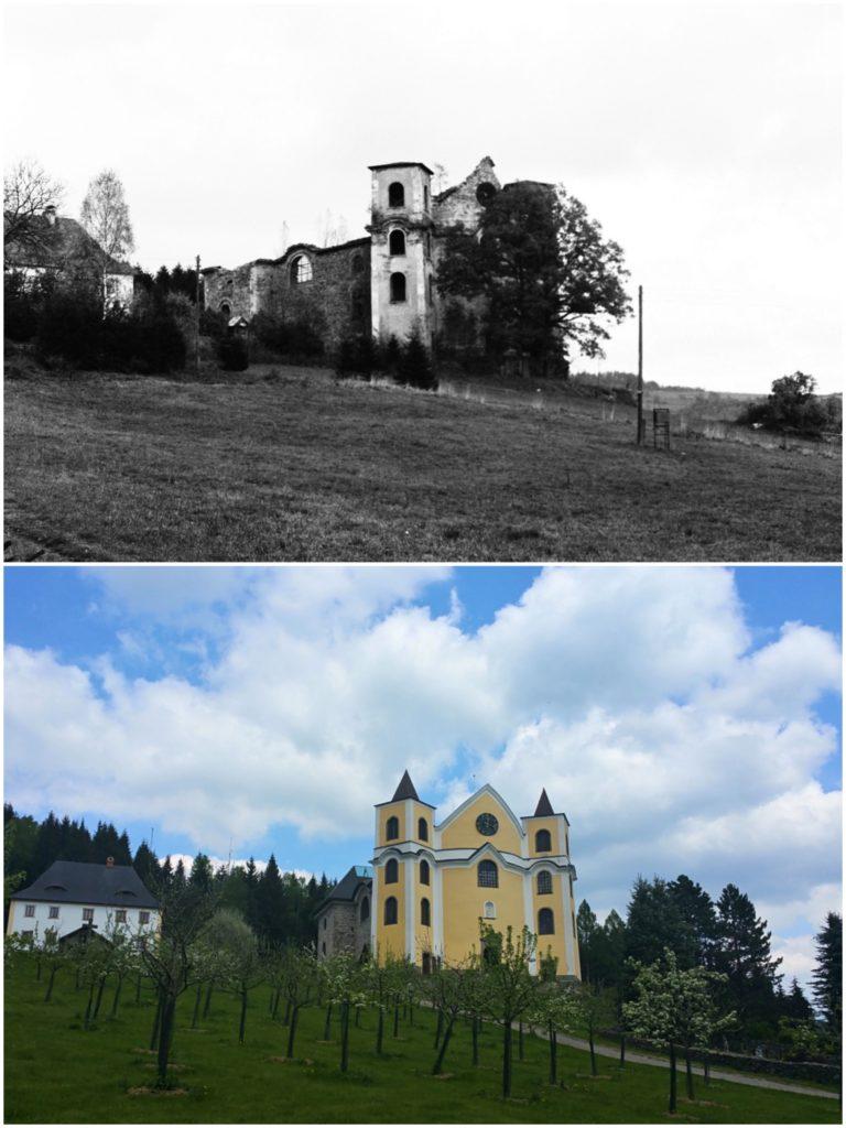Kostel Nanebevzetí Panny Marie, Neratov
